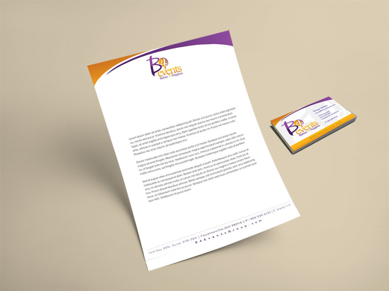 B4 Event Business Card/ Stationery