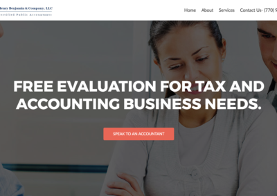 Henry Accountant Website