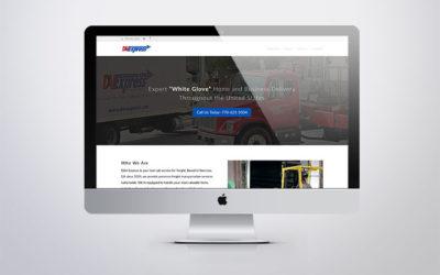 D&VExpress website – New look